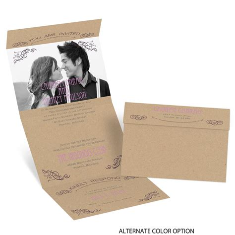 Seal And Send Wedding Invitations by So Inviting Seal And Send Invitation Invitations By