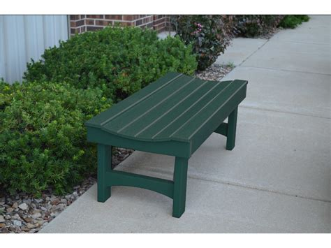 frog furnishings garden recycled plastic bench jhpbgar