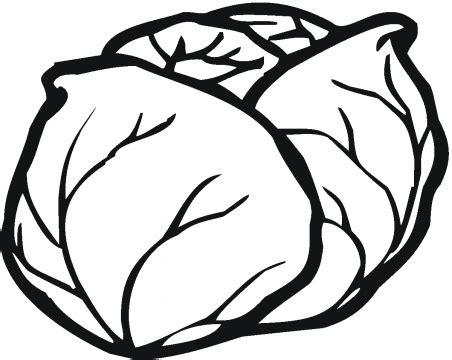 Lettuce 5 Coloring Page Super Coloring Clipart Best Lettuce Coloring Page