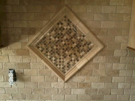 tumbled stone backsplash j r tile