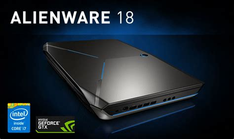 Laptop Alienware 18 alienware 18 laptop review hardwareheaven