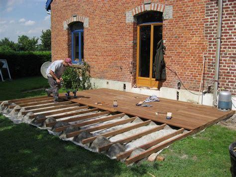 Jardins En Terrasse by Terrasse De Jardin En Teck Nos Conseils