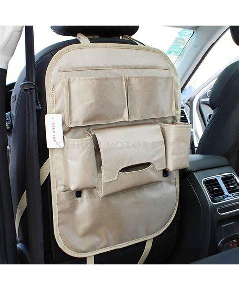 Back Car Seat Organizer Black buy back seat organizer black in pakistan
