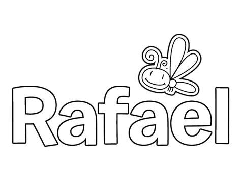 imagenes para colorear rafael urdaneta dibujo de rafael para colorear dibujos net