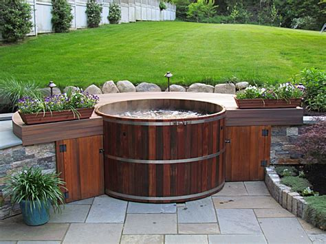 spa tub conventional tubs spas pricing maine cedar tubs