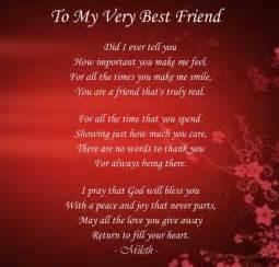 best poems in my best friend poems friendship to my best friend