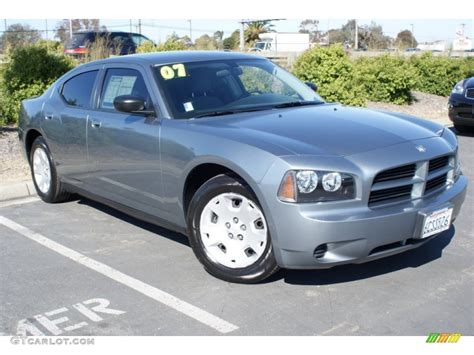 2007 dodge charger colors 2007 silver steel metallic dodge charger 53171501