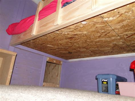 Bunk Bed Foundation Build Wooden Custom Bunk Bed Plans Plans Craftsman Style Desk