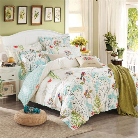 Bed Linen Set Aliexpress Buy 40s Cotton Bedding Sets Duvet Cover Set Country Style Bed Set