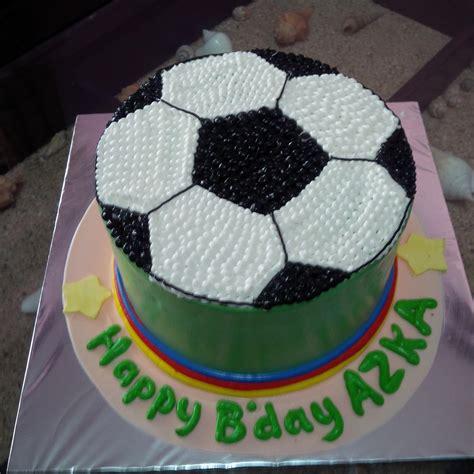 jual kue gambar bola harga murah jakarta oleh khena cake