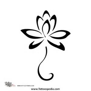 Tribal Lotus Flower Lotus Flower