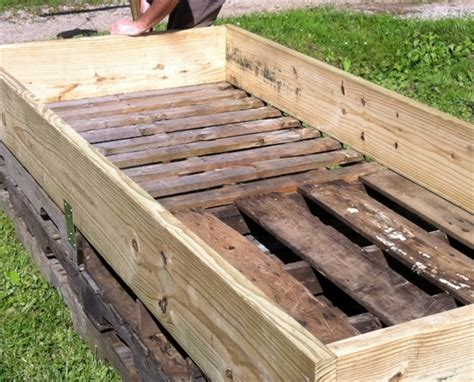 building a raised garden with wood build a simple elevated garden bed food galleries