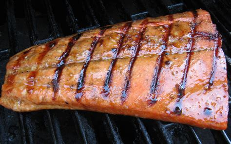 grilled salmon around my home