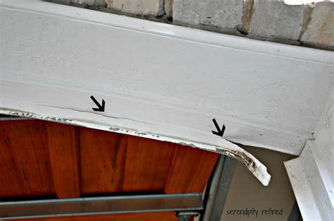 Replacing Garage Door Seal Serendipity Refined How To Replace A Garage Door Weather Seal