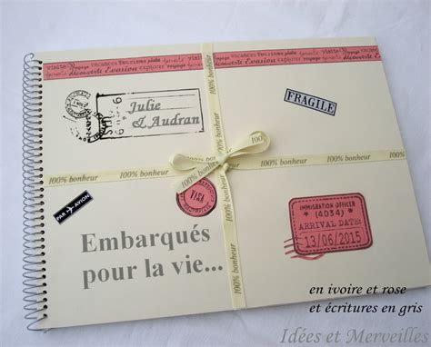 idees themes photo livre d or mariage th 232 me voyage et son porte stylo idees