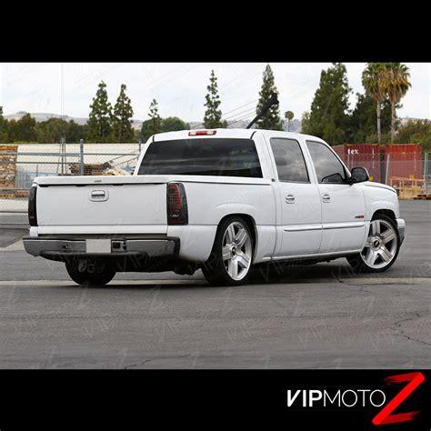 2005 chevy silverado tail light assembly 2003 2006 chevy silverado pickup quot smoke quot rear led tail