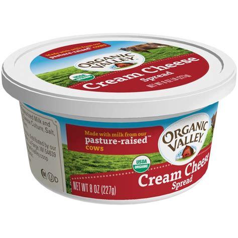 organic valley cream cheese cream cheese spread 8 oz