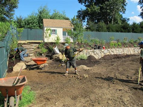 slippery rock lawn and garden create a child s playhouse and butterfly garden hgtv
