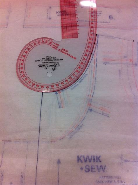pattern making and alteration pinterest french curve used for flat pattern modification or fitting