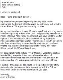 Enforcement Officer Cover Letter by Enforcement Cover Letter Sle