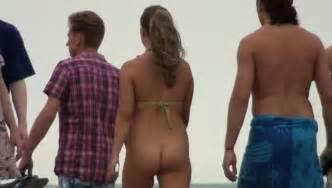 bottomless on the beach naked world