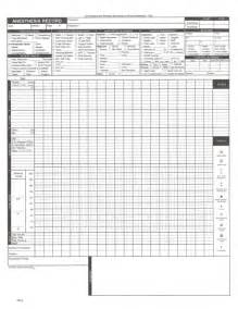 Anesthesia Record Form Template by Anesthesia Record Form Complex Form