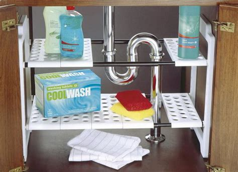 the kitchen sink storage ideas creative sink storage ideas hative