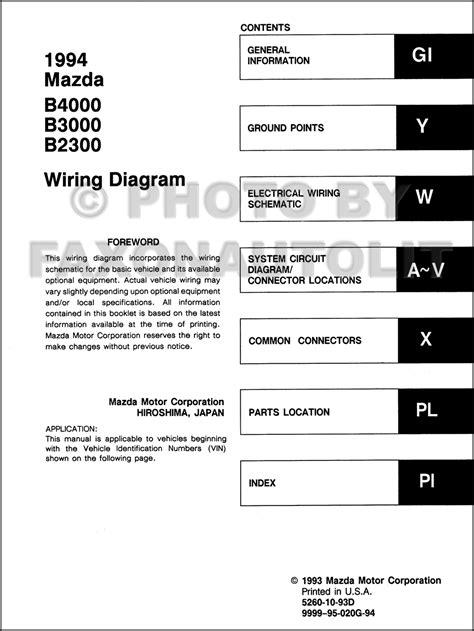 free car manuals to download 2004 mazda b series plus head up display 2004 mazda b2300 fuse diagram wiring diagram with description