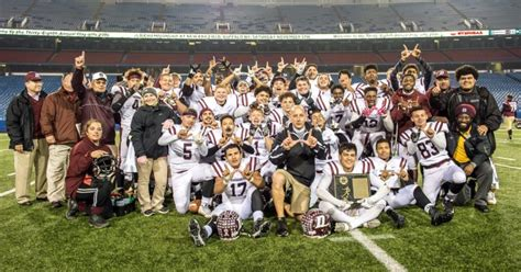 section vi football marauders outlast cheektowaga for first ever section vi