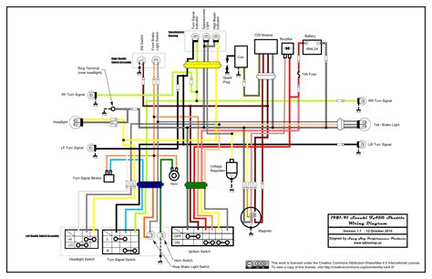 schematic wiring diagram for honda 450 atv honda trx 250