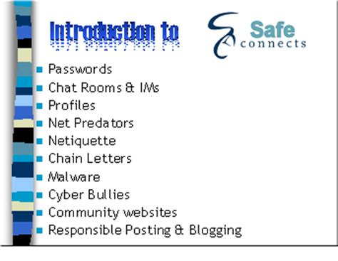 friendly chat rooms 7 8 grade safe connects net literacy
