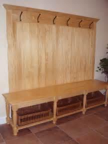 entryway storage coat rack bench room ornament