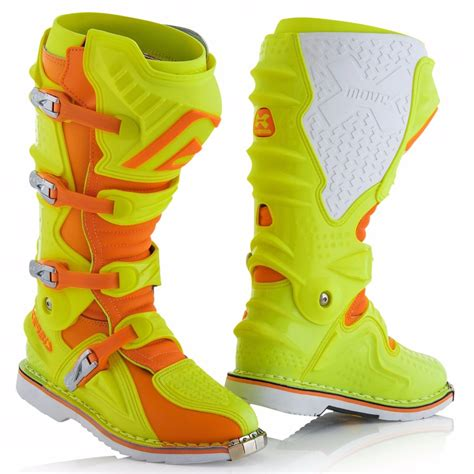 Sepatu Cross Acerbis X Move bottes cross acerbis x move 2 0 jaune fluo orange fluo 2018 enduro motoblouz