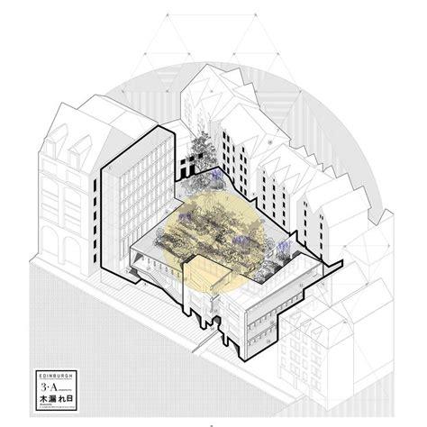 Tadao Ando Floor Plans Best 25 Axonometric Drawing Ideas On Pinterest