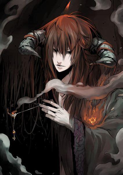 anime demon demon anime boy dark bloody crazy pain gore guro