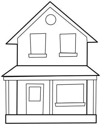 black house cliparts   clip art