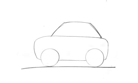 Drawing A by Draw A Car Side View Junior Car Designer