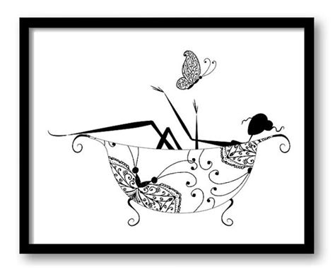 black and white bathroom art black white bathroom decor bathroom print silhouette butterfly