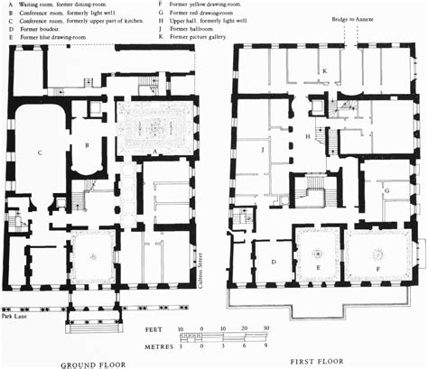 house layout plans park lane british history online