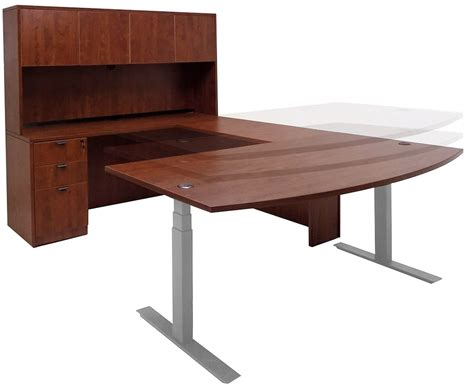 how to raise a desk office desks that can be raised and lowered styles