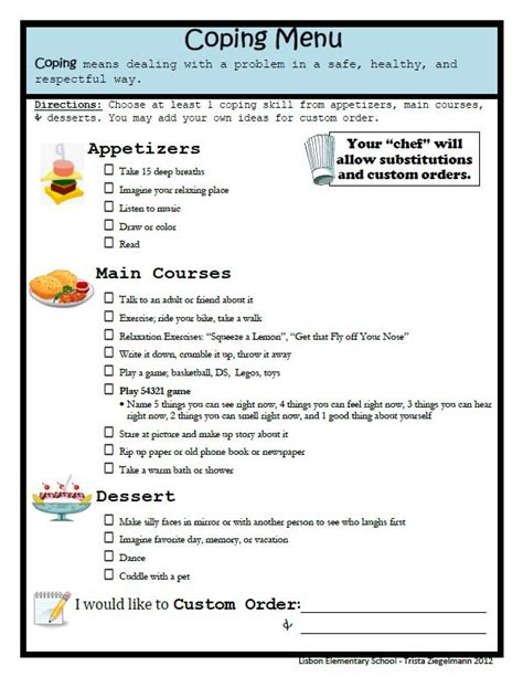 Activities For Self Detox Ignore The Anxious by 40 Best Coping Skills Activities For Images On