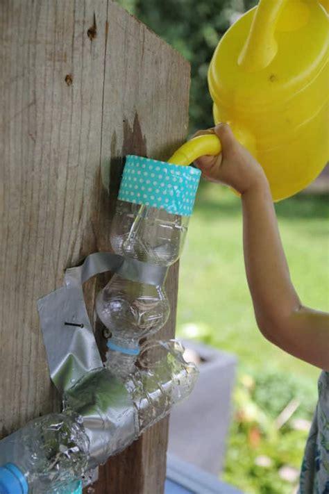 basteln mit kindern plitsch platsch selbst gebaute