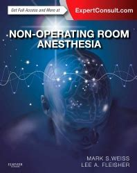 Non Operating Room Anesthesia 1st Edition
