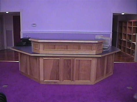 Custom Reception Desk Custom Made Reception Desk By Bayne Junction Woodworks Custommade