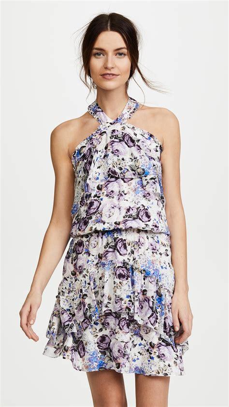 Trisha Dress lyst trisha dress in blue