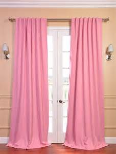 Pink Blackout Curtains Precious Pink Blackout Curtain Contemporary Curtains San Francisco By Half Price Drapes