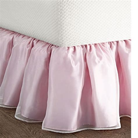 sheer bed skirt lace bed skirt