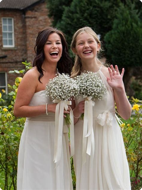 Inexpensive Bridesmaid Bouquets by Best 25 Gypsophila Bouquet Ideas On