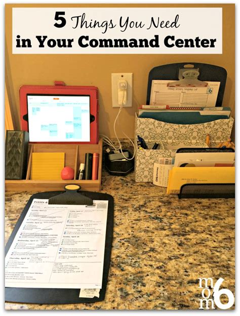 Things To In Your Kitchen by 5 Things You Need In Your Kitchen Command Center