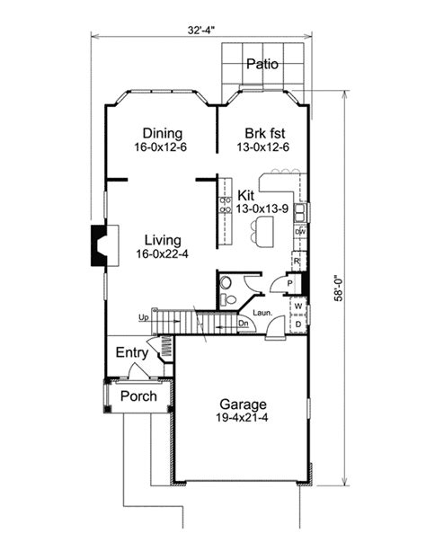 mediterranean narrow house 2 3 not so big house narrow cottage plans 28 images narrow lot cottage